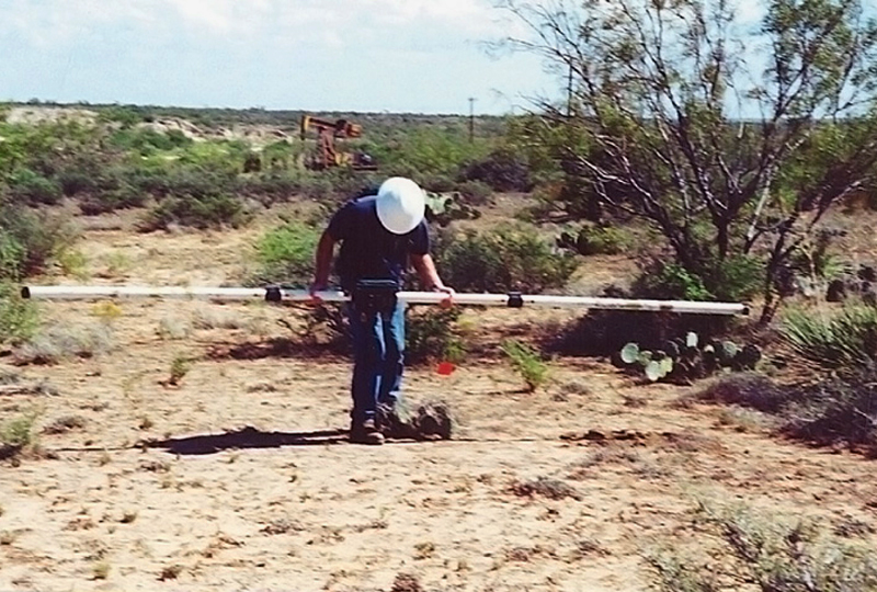 Electromagnetic (EM) Terrain Conductivity Survey