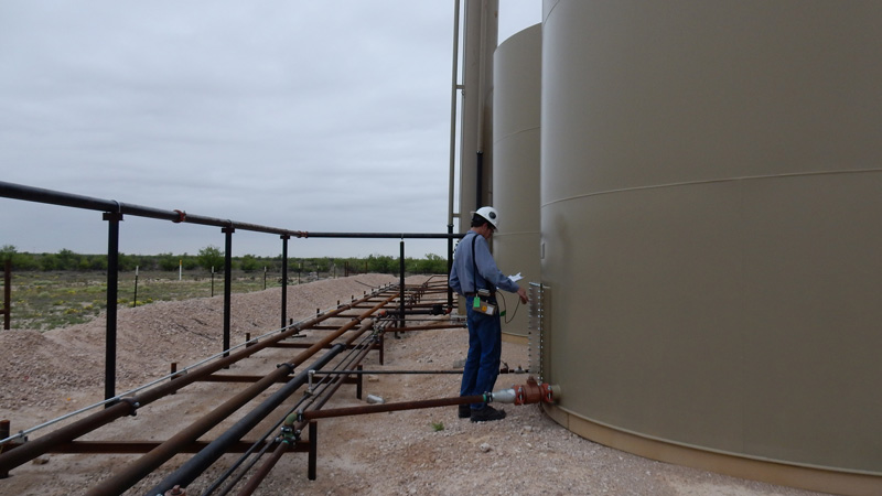 Naturally Occurring Radioactive Materials (NORM) surveys in oil and gas producing areas.