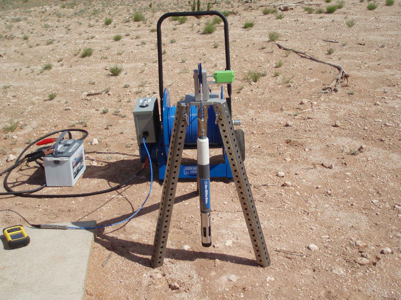Troll 9500 probes to collect real-time downhole water quality data